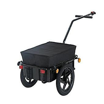 Air Wheel Bicycle Trailer With Suitcase, Large Capacity, Enclosed Cargo