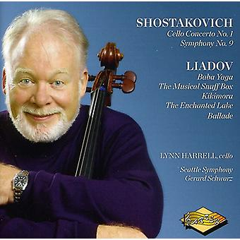 Shostakovich/Liadov - Shostakovich: Cello Concerto No. 1; Symphony No. 9; Liadov: Baba Yaga; Musical Snuff Box [CD] USA import