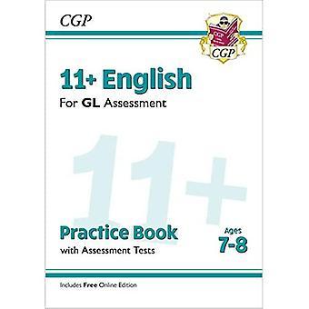 Ny 11 + GL engelsk praksis bog & Assessment tests-aldre 7-8 (med online udgave)