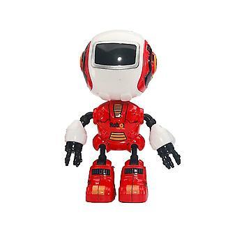 Rc סגסוגת רובוט מגע חישת הוביל עיניים חכם קול Diy גוף Multi-function Toy