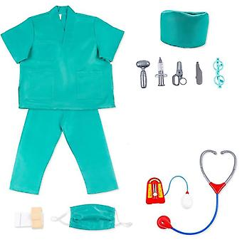 Children Doctor Clothes And Medical Tools For Kindergarten Role Play