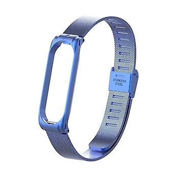 Metal Strap Wristband For Mi Band 3 4 Replacement