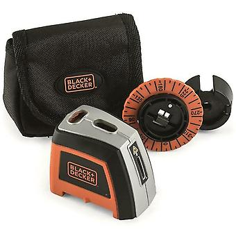 Musta & Decker manuaalinen lasertaso plus säilytyspussi 360 astetta kiertää - BDL120