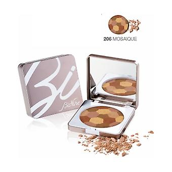 Defense Color Sun Touch Compact Earth 206 Mosaic 10 g