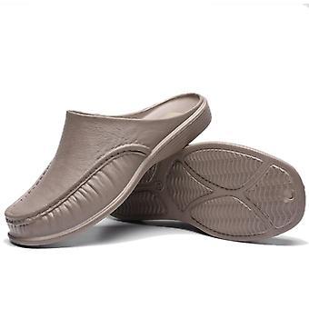 Férfi naplopók slip tovább alkalmi kényelmes gyaloglás cipő