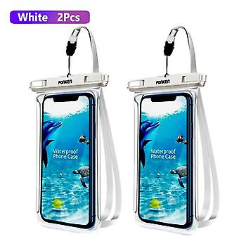 Fonken Full View Waterproof Case Phone Underwater Snow Rainforest