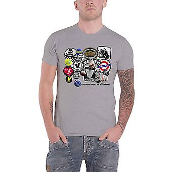 Madness T Shirt Everyone Loves A Bit Band Logo new Official Mens Grey