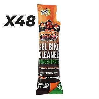 Monkey Juice Gel Bike Cleaner Concentrate Refill Sachet 100ml - Outer Carton 48pcs