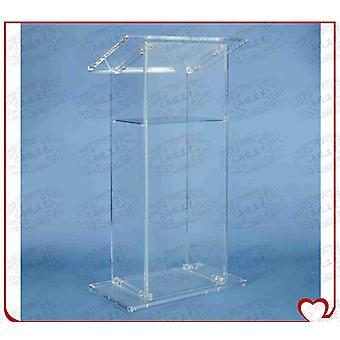 Luxury Acrylic Lectern, Perspex Podium, Plexiglass Church Pulpit