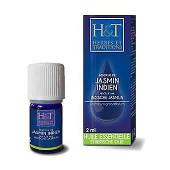 HE Absolute Indian Jasmine (Jasminum grandiflorum) 2 ml of essential oil