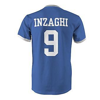 فيليبو إنزاغي 9 إيطاليا بلد المسابقة تي شيرت