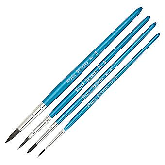 Major Brushes Water Colour Brushes - Set of 4