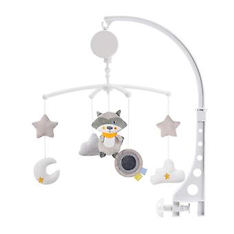 Cartoon Baby Crib Mobiles Rattles Music Educational Bed Bell Carousel