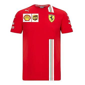 2021 Ferrari Charles Leclerc Tee (punainen)
