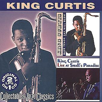 King Curtis - har Tenor Sax vil blåse/Live [DVD] USA import