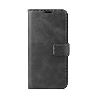 Magnetic Elegant Leather Case for Nokia 6.1 Plus/X6 - Black