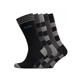 Bench Haze 5 Pack Dress Socks