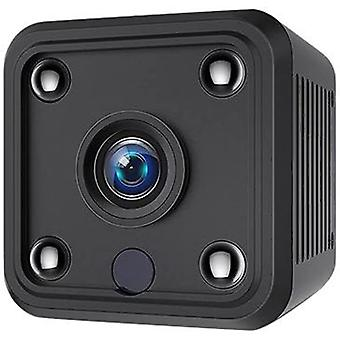 Mini Camera, with Motion Detection and Infrared Night Vision Function 1080P High Definition Small Security Camera, Long Battery Life, Video Call Camera (Black)