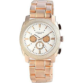 Excellanc - Men's wristwatch, quartz, different materials 280932500002