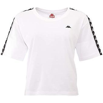 Kappa Hedda, T-shirt för damer, vit, L