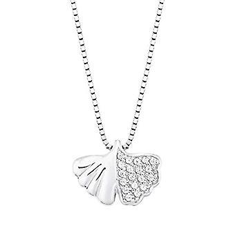 amor Halskjede med kvinners anheng, i Sterling 925 sølv, med zirkoner(15)