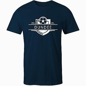 Dundee 1893 established badge football t-shirt