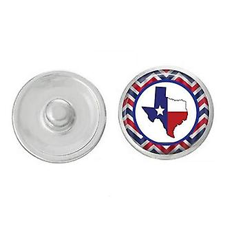 State - Snap Jewelry - Texas Themed Snaps Pair With Our Base Pieces -