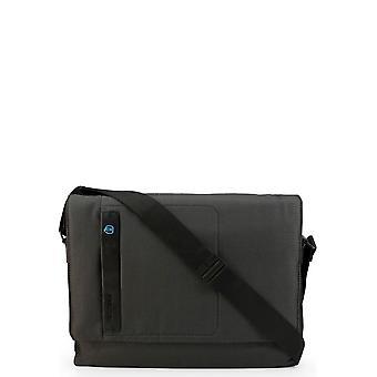 Piquadro - Bags - Briefcases - CA4744P16-CHEVGR - Men - black,dimgray