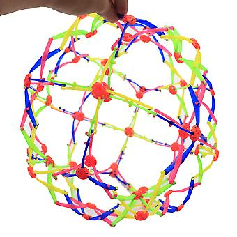 Large expandable breathing ball sphere for kids set of 4- stress reliever fidget toys for kids adults x7686