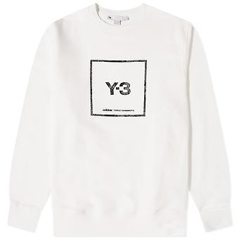 Y-3 Fyrkantig logotröja