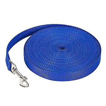 7M * 2cm azul 50m correa de perro mascota, correa de seguimiento al aire libre para perros grandes az317
