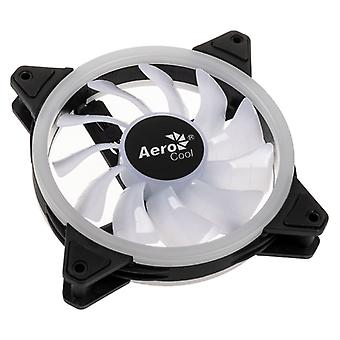 Aerocool Duo 12 Pro RGB LED Fan with Controller - 120mm - Triple Pack