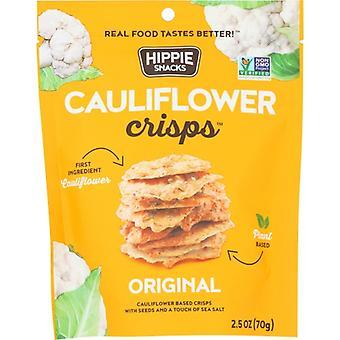 Hippie Snacks Crisps Cauliflower Orig, Case of 8 X 2.5 Oz