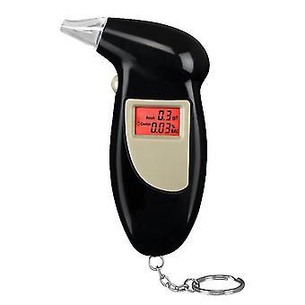 With light professional digital alcohol tester breathalyzer analyzer detector az1122