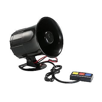 Dc 12v 3 Ton klingt laut Lautsprecher Sicherheitswarnsirene Horn