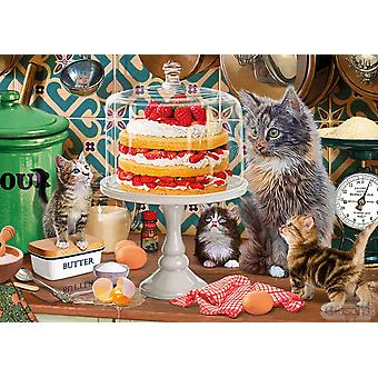 Gibsons Just a Small Slice Jigsaw Puzzle (500 Pieces)