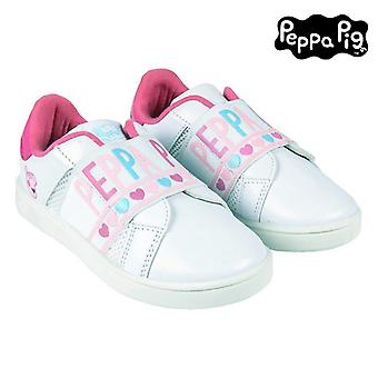 Sports Shoes for Kids Peppa Pig White
