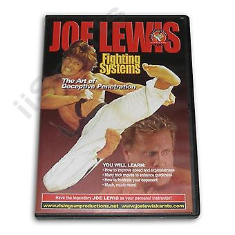 Joe Lewis Luchando Penetración Engañosa DVD -Vd6780A