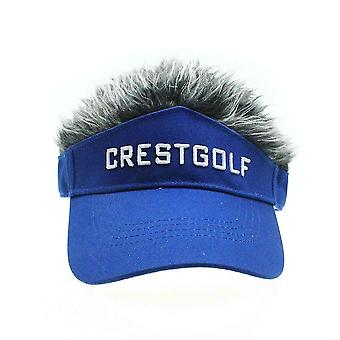 Einstellbare Kunsthaar GolfMütze, Baseballkappe (Blau)
