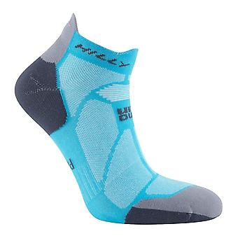 Hilly Marathon Fresh Socklets - Peacock Blue/Charcoal