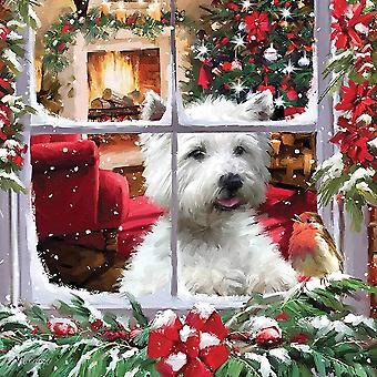 Otter House Waiting For Santa Jigsaw Puzzle (1000 Pieces)