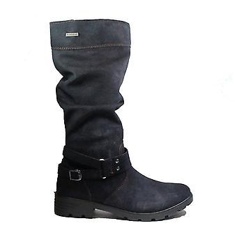Ricosta Riana 7220100-171 See Nubuck Leather Girls Winter Long Leg Boots