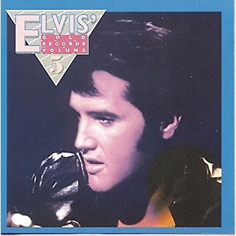 Elvis Presley - Elvis' Gold Records 5 [Vinyl] USA import
