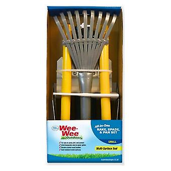 Four Paws Wee Wee All in One Dog Waste Pooper Scooper Set  - Small