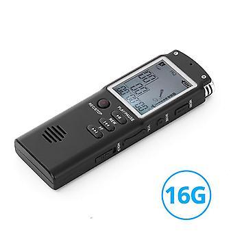 16GB hlasem aktivovaný digitální zvukový hlasový záznamník USB pero non stop 70hr nahrávání PCM