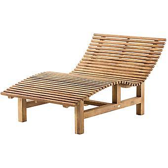 Meubles de jardin - Mobilier d'extérieur - Mobilier de salon - Teck moderne 80 cm x 200 cm x 95 cm
