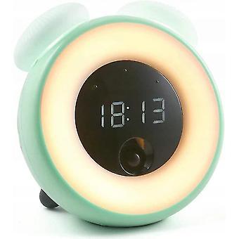 Alarm clocks little alarm clock kids bedroom led room electronic induction small alarm clock