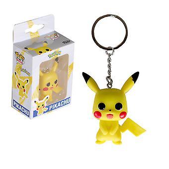Pop Pikachu Anime Hahmo Malli Avainnippu