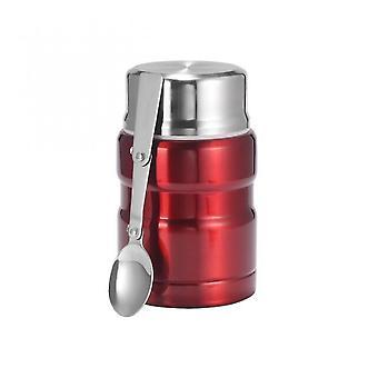 Venalisa Aislamiento Acero Inoxidable Fiambres Para Alimentos Calientes Con Envases 500ml Matraces al Vacío Thermo Mug Thermocup Silver