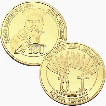Collection de pièces commémoratives plaquées d'argent du 100e anniversaire allemand Pièces d'or